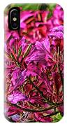 The Hong Kong Orchid IPhone Case