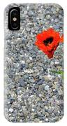 The Hopeful Poppy IPhone Case