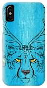 The Horned Cheetah IPhone Case