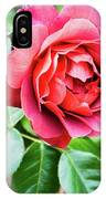 The Hot Cocoa Red Rose IPhone Case