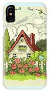 The House At The End Of Storybook Lane IPhone Case
