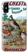 The Hunters Choice IPhone Case