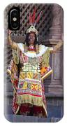 The Inca At Inti Raymi IPhone Case