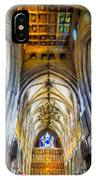 The Interior Of The Southwark Cathedral  IPhone Case