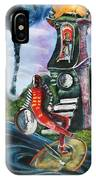The Jester Of Time IPhone Case