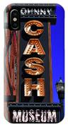 The Johnny Cash Museum - Nashville IPhone Case