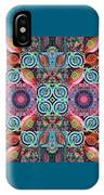 The Joy Of Design Mandala Series Puzzle 7 Arrangement 1 IPhone Case