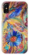 The Joyful Iris IPhone Case