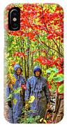 The Joys Of Autumn Camping IPhone Case