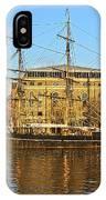 The Kaskelot In Bristol Dock IPhone Case