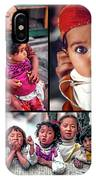 The Kids Of India Collage IPhone Case