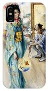 The Lady And Sada San IPhone Case