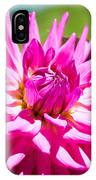 The Lady Is A Dahlia IPhone Case
