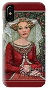 The Lady Mae   Bas Relief Miniature IPhone Case