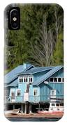The Lake House - Digital Oil IPhone Case