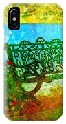The Lakeview Bench IPhone Case