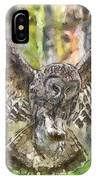 The Largest Owl IPhone Case