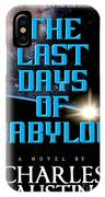 The Last Days Of Babylon Book Cover IPhone Case