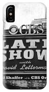 The Late Show IPhone Case