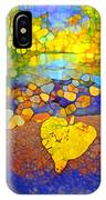 The Leaf At The Creek IPhone Case