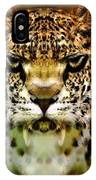 The Leopard Of The Temple  IPhone Case