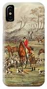 The Life Of A Sportsman IPhone Case