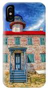 The Light At East Point IPhone Case