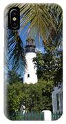 The Lighthouse In Key West II IPhone Case