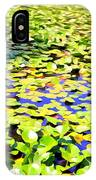 The Lily Pond #2 IPhone Case