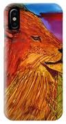 The Lion King Of Massai Mara IPhone Case