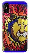 The Lions Mane. IPhone Case