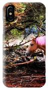 The Little Pink Unicorn By Pedro Cardona IPhone Case