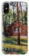 The Log Cabin IPhone Case