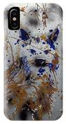 The Lone Wolf  Canis Lupus IPhone Case