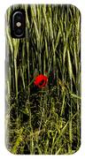 The Loneliness Of A Poppy IPhone Case