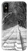 The Long Winter Walk IPhone Case