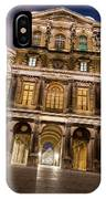 The Louvre Museum At Night IPhone Case