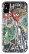 The Love Birds IPhone X Case