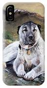 The Loyal Guardian IPhone Case