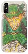 The Luck Of The Irish IPhone Case