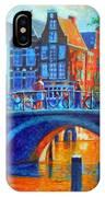 The Magic Of Amsterdam IPhone Case
