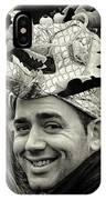 The Man In The Dragon Hat IPhone Case