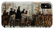 The March To Valley Forge, Dec 19, 1777 IPhone Case