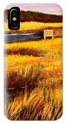 The Marsh At Cherry Grove Myrtle Beach South Carolina IPhone Case
