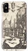 The Martyrdom Of Saint James Major IPhone Case