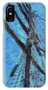 The Mast And The Wind IPhone Case