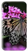The Master Calls A Butterfly IPhone Case by Cindy Lark Hartman
