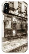 The Mayflower Pub London Vintage IPhone Case
