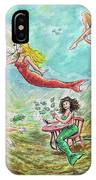 The Mermaids Of Weeki Wachee State Park IPhone Case