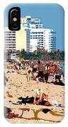 The Miami Beach IPhone Case